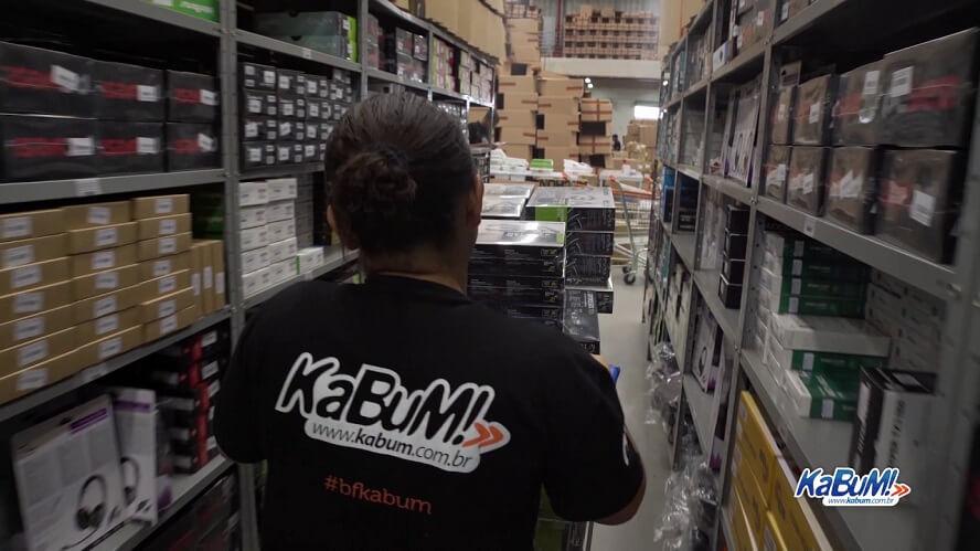 Kabum estoque e produtos