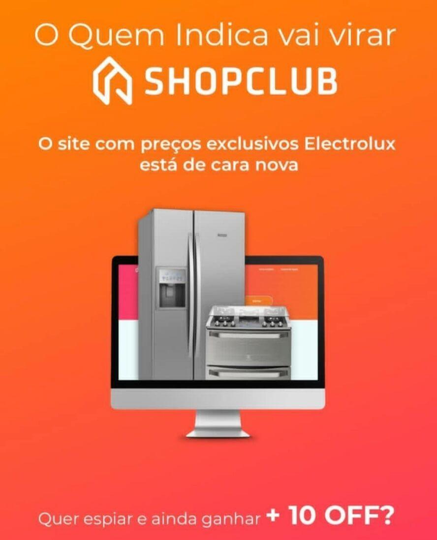 Código Acesso ShopClub