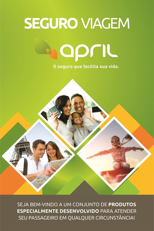 Código promocional April Seguro Viagem