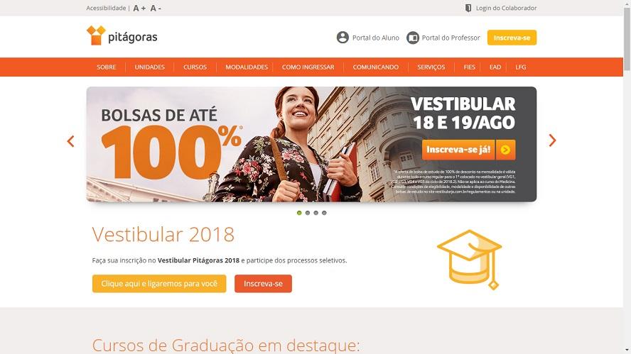 Cupom Faculdade Pitágoras