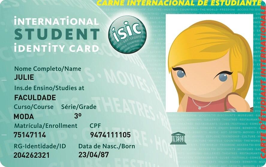 Desconto Estudante ISIC Brasil