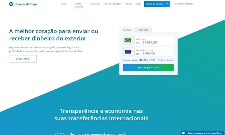 Código Promocional Remessa Online