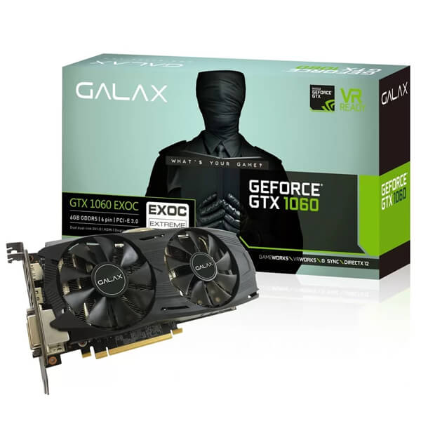 Galax GeForce GTX 1060 EXOC