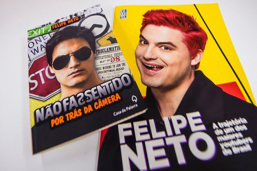 Cupom de Desconto Felipe Neto Livros