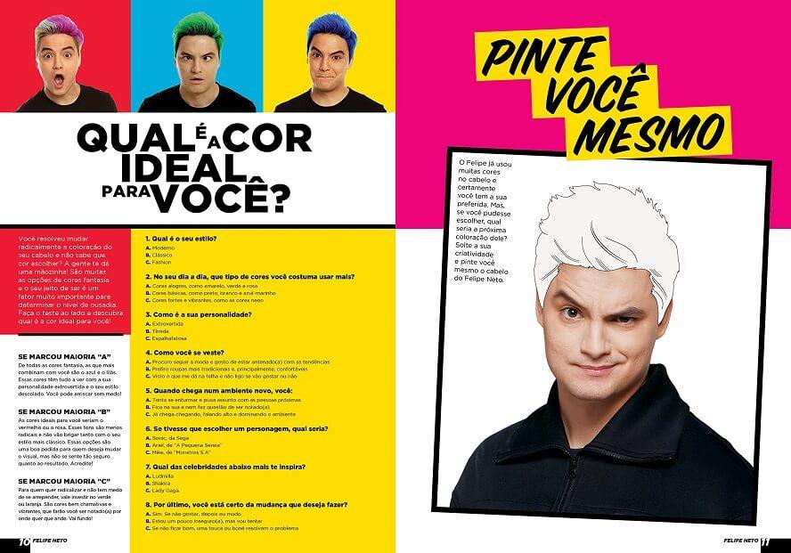 Voucher Felipe Neto Livros