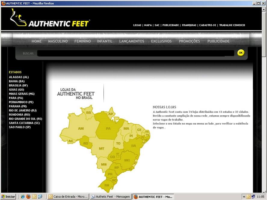 Código Promocional Authentic Feet