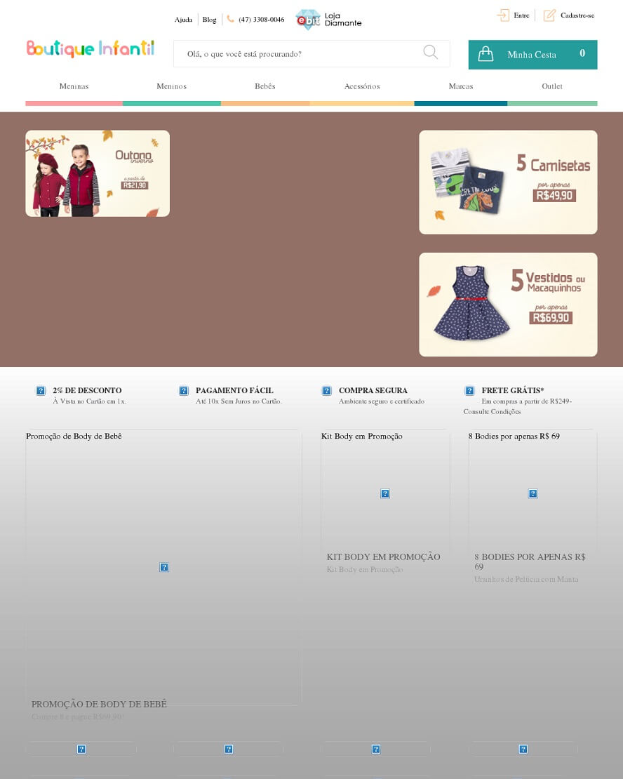 Código Promocional Boutique Infantil