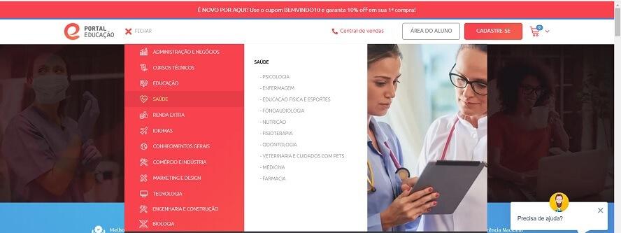 Código Promocional Portal Educação