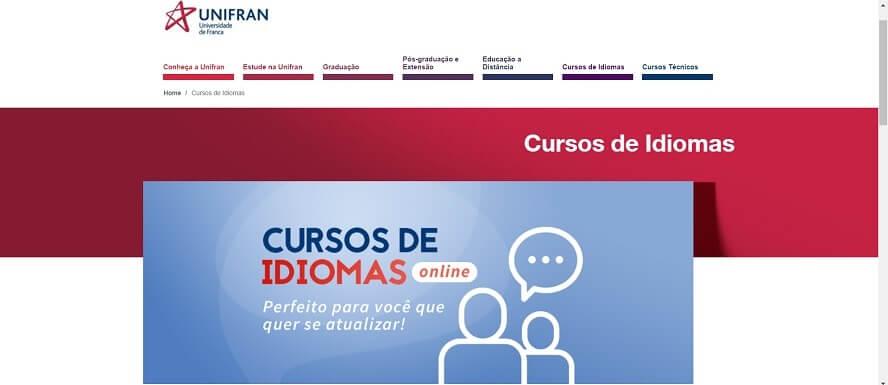 Código promocional Unifran