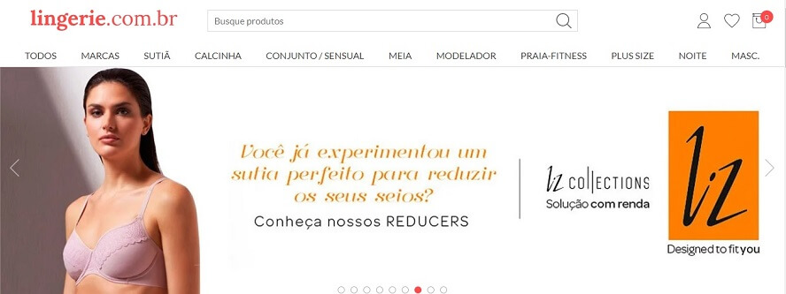 Cupom de desconto Lingerie.com.br