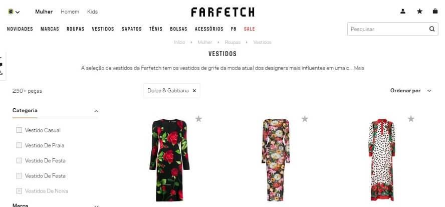 Cupom Farfetch