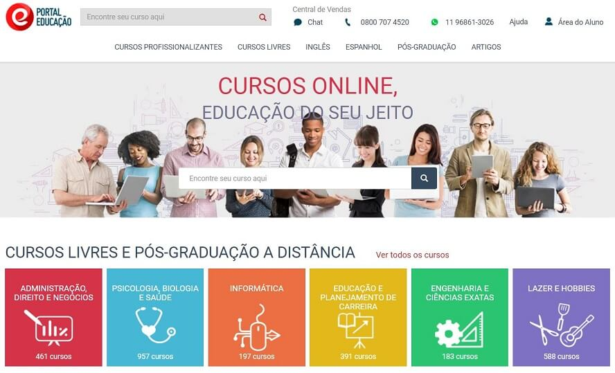 Cupom Portal Educação