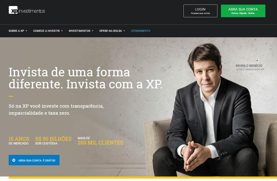 Cupom XP Investimentos