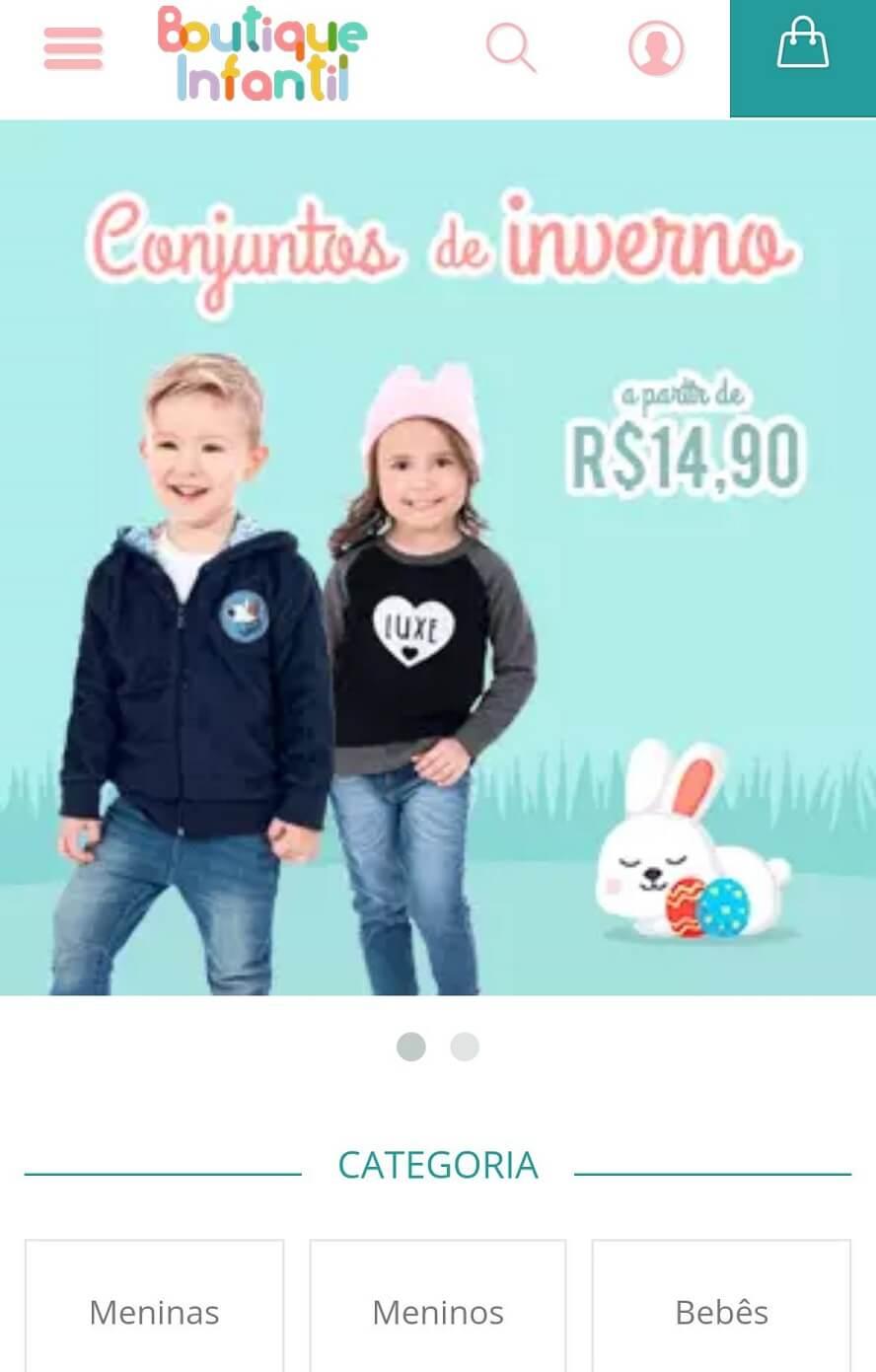 Promocode Boutique Infantil