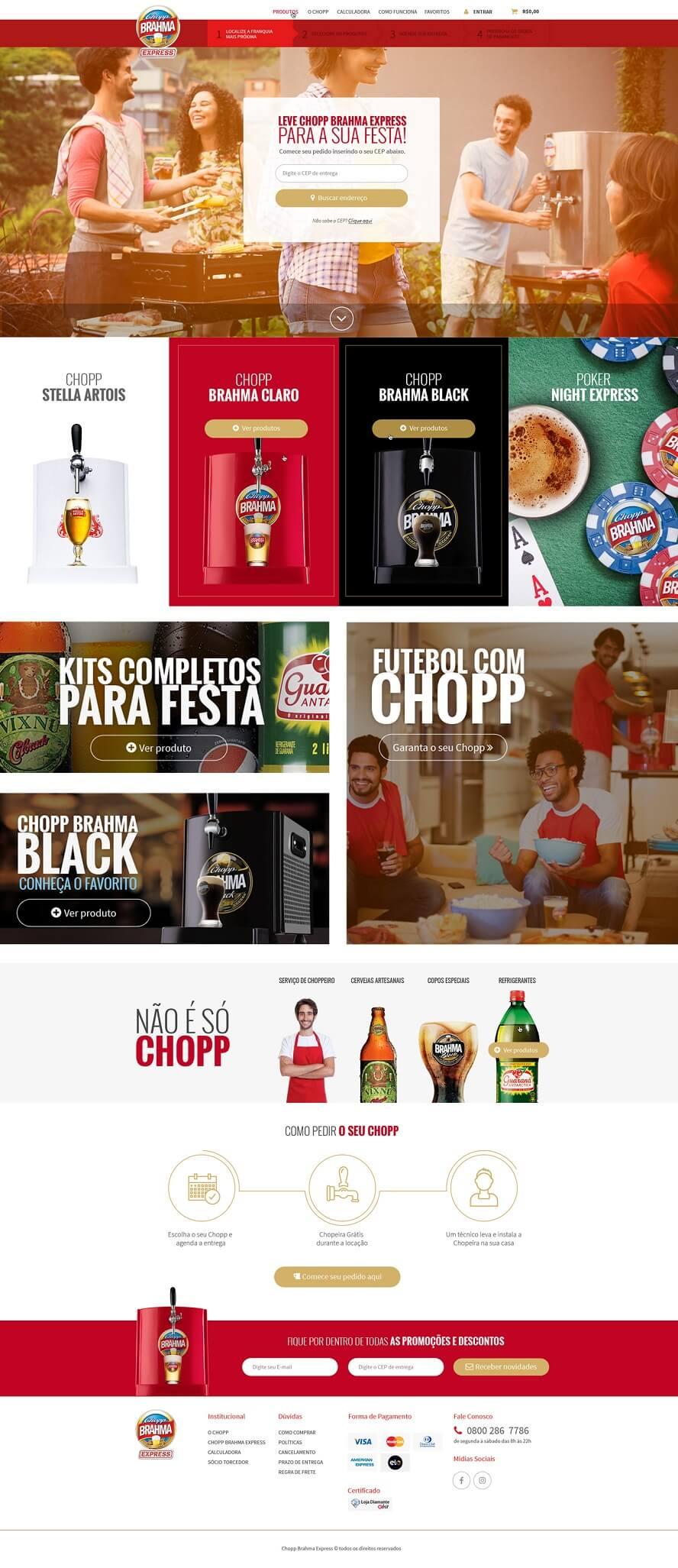 Promocode Chopp Brahma Express