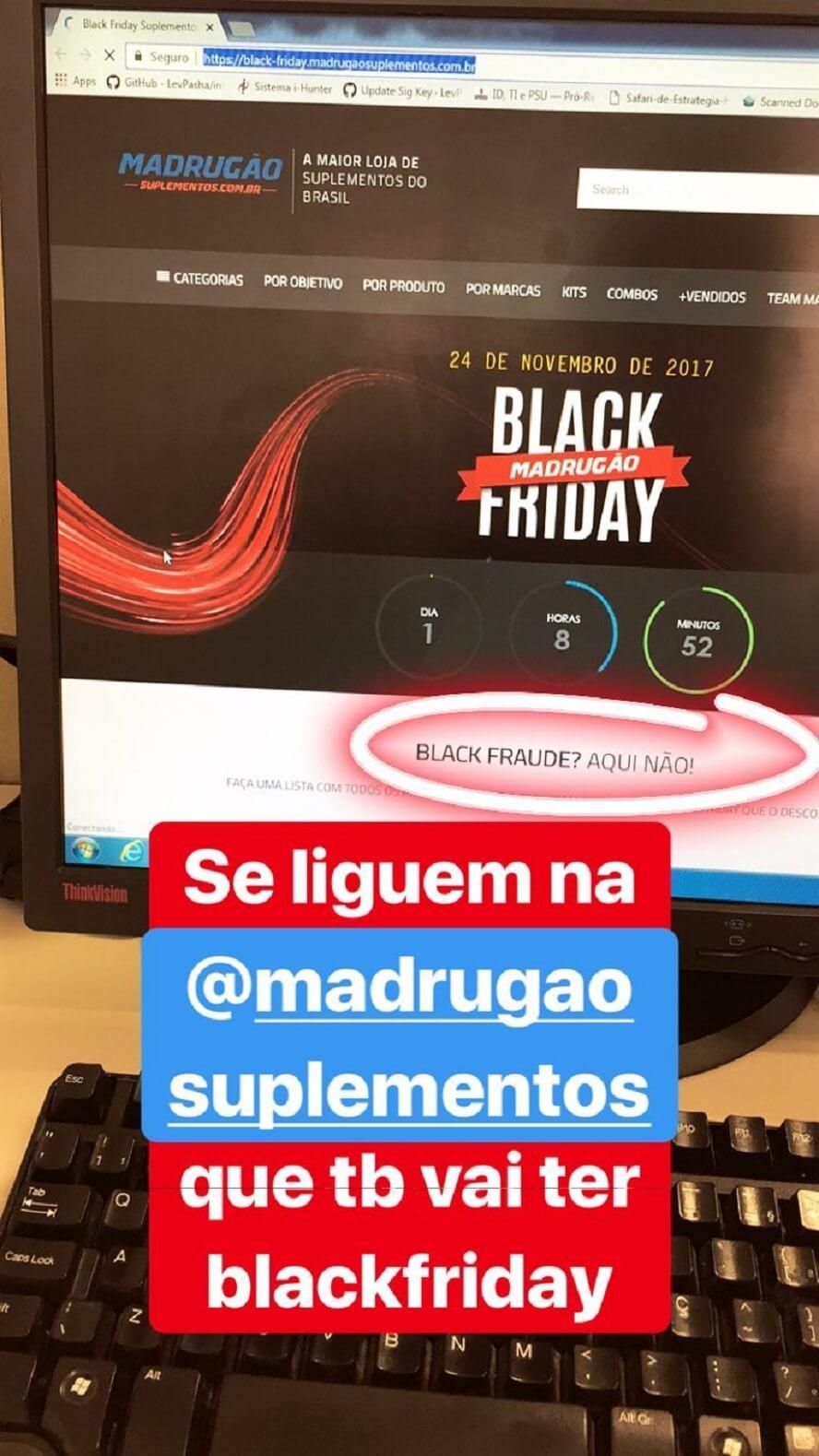 Promocode Madrugão Suplementos