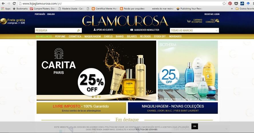 Promocode Glamourosa