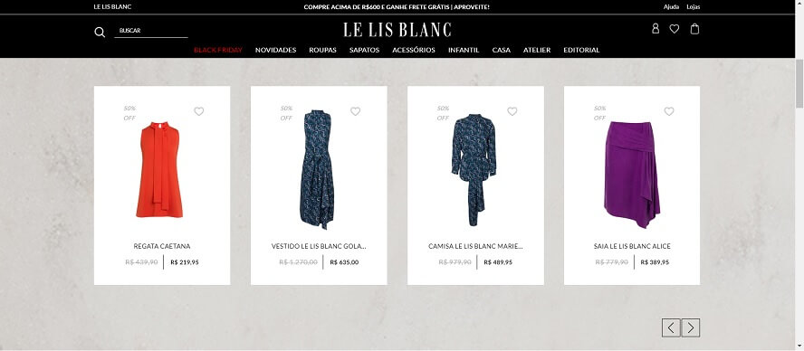 Código Promocional Le Lis Blanc