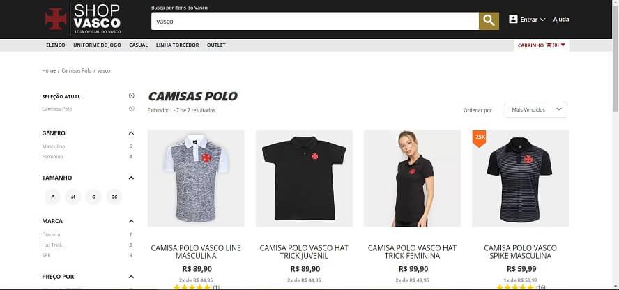 Promocode Shop Vasco